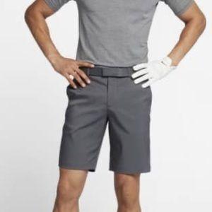Nike Dri-Fit Dark Gray Flat Front Golf Shorts 30